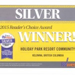 RV West Silver Award Reader's Choice